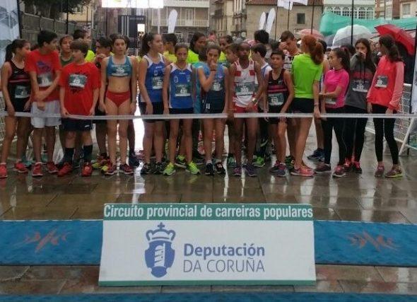 Premiacións do V Circuíto de Carreiras Populares Deputación da Coruña