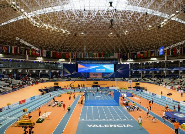 Valencia consagra ó atletismo feminino galego