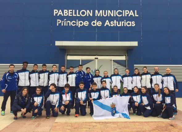 Cinco medallas para os nosos Sub-16 e Sub-18 en Murcia