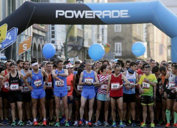 Teijeiro e Serantes, campións galegos de maratón