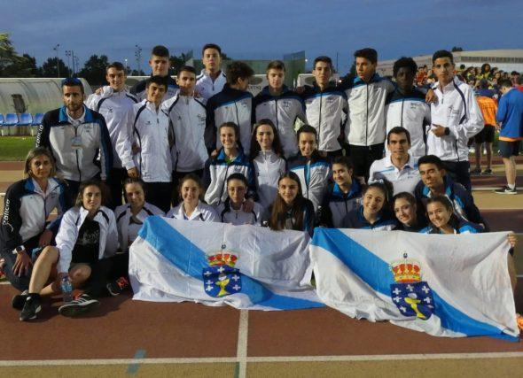 Galicia acada o quinto lugar por seleccións no Sub18