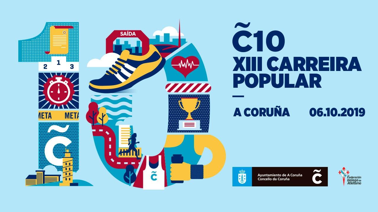 XIII Carreira Popular Coruña 10