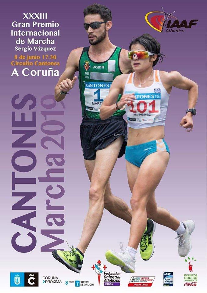 XXXIII Gran Premio Internacional de Marcha Cantones de A Coruña – Trofeo Sergio Vázquez
