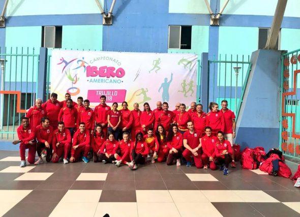 Ouro Iberoamericano para Solange en Trujillo