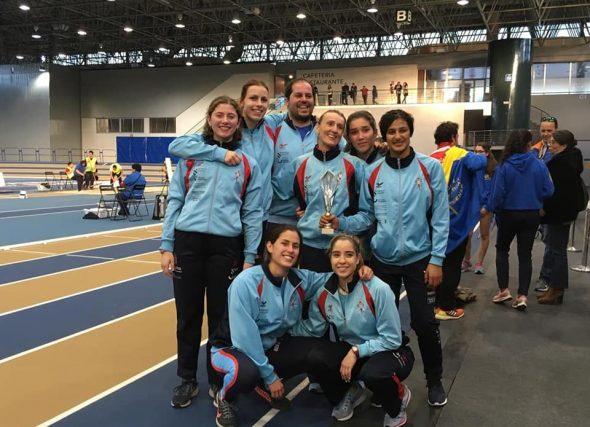 Atletismo Feminino Celta e Sociedad Gimnástica, acadan os últimos títulos do ano