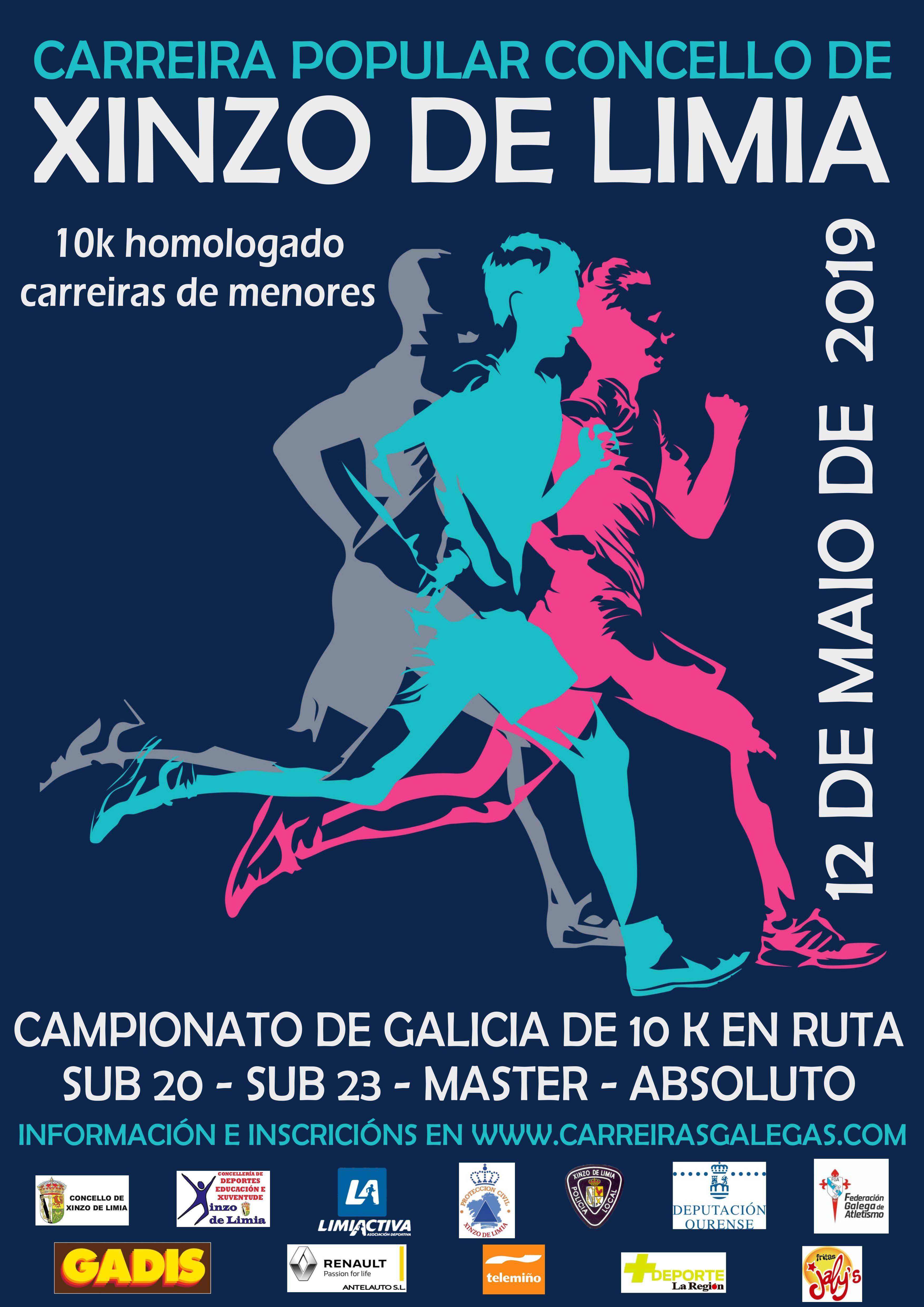 XII Campionato de Galicia de 10 Km. en Ruta