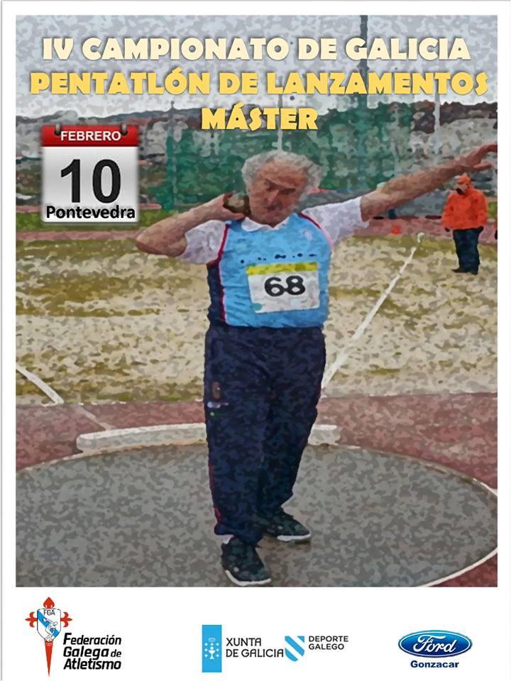 IV Campionato de Galicia de Péntatlon de Lanzamentos Máster