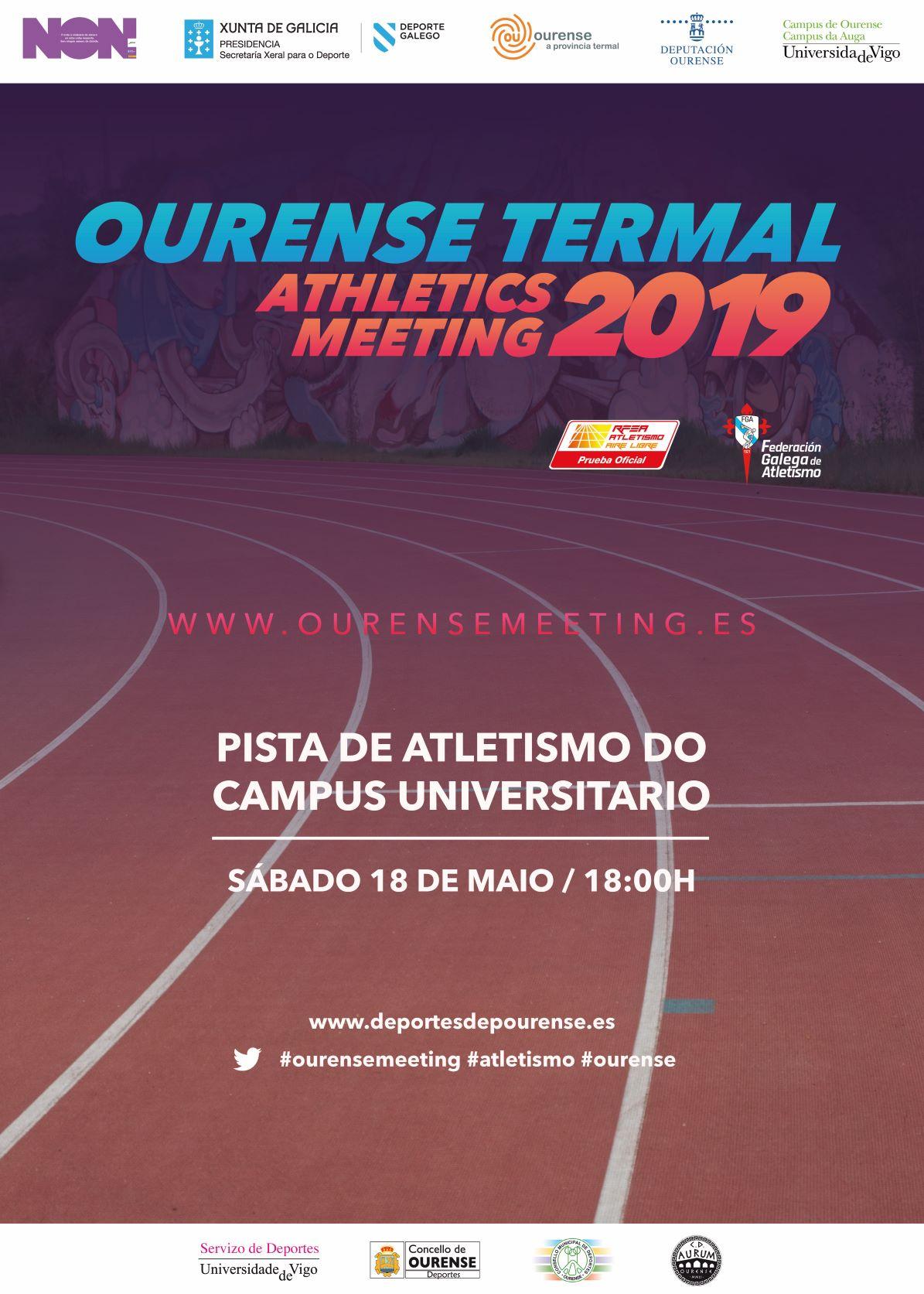 Ourense Termal Athletics Meeting 2019