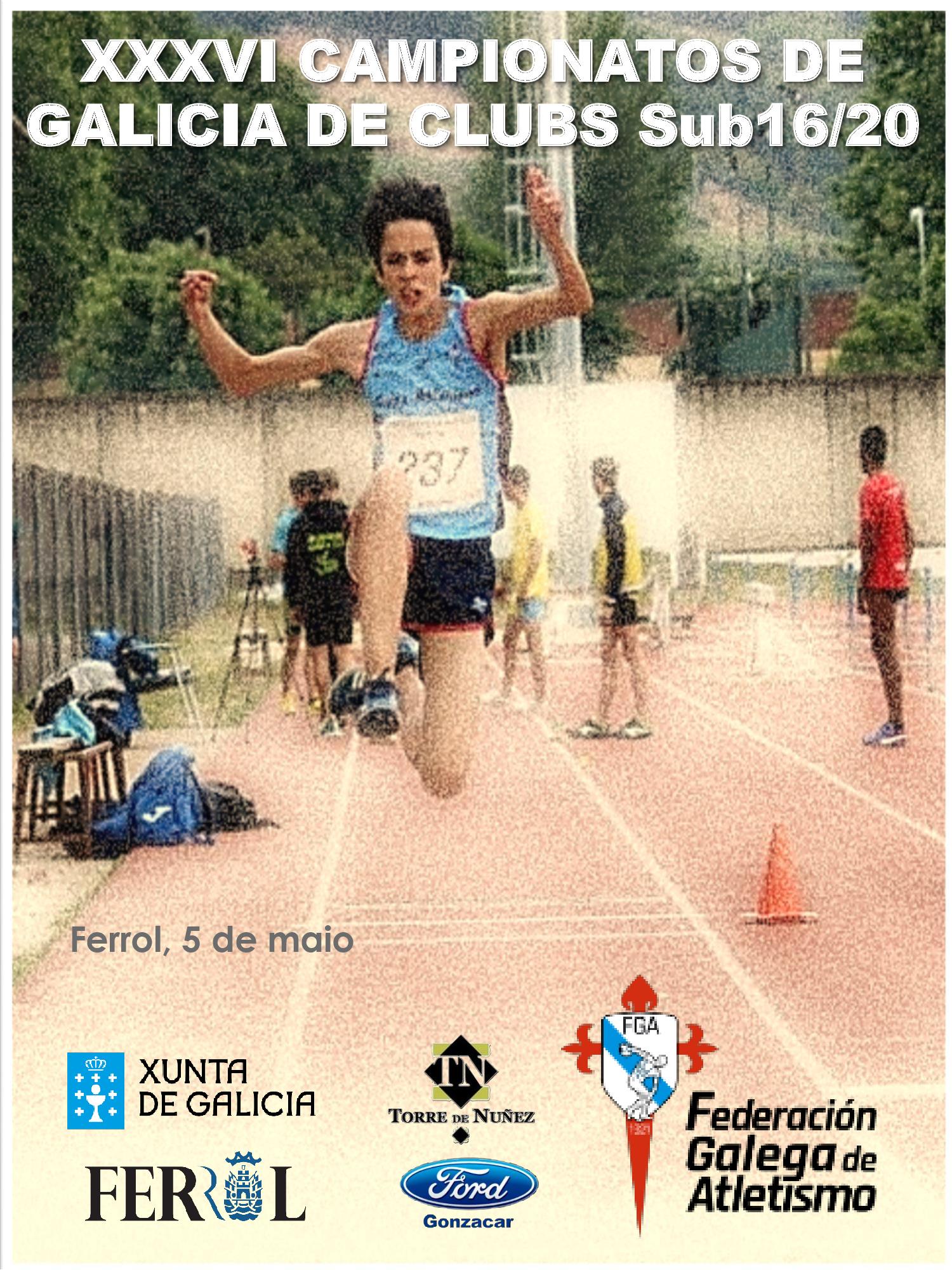 XXXVI Campionato de Galicia de Clubs Sub16 – Sub20