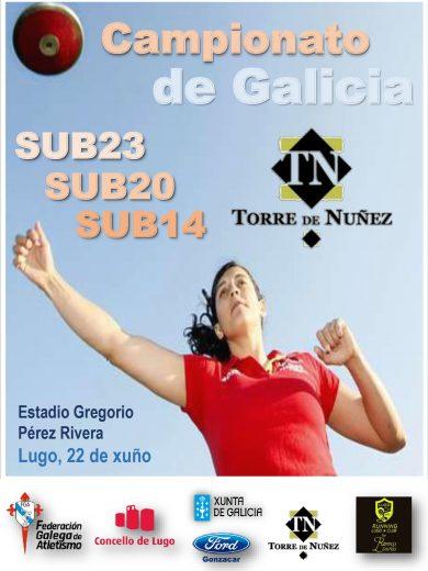 Campionato de Galicia Sub 20 – Sub23 en Pista ao Aire Libre 2018/2019