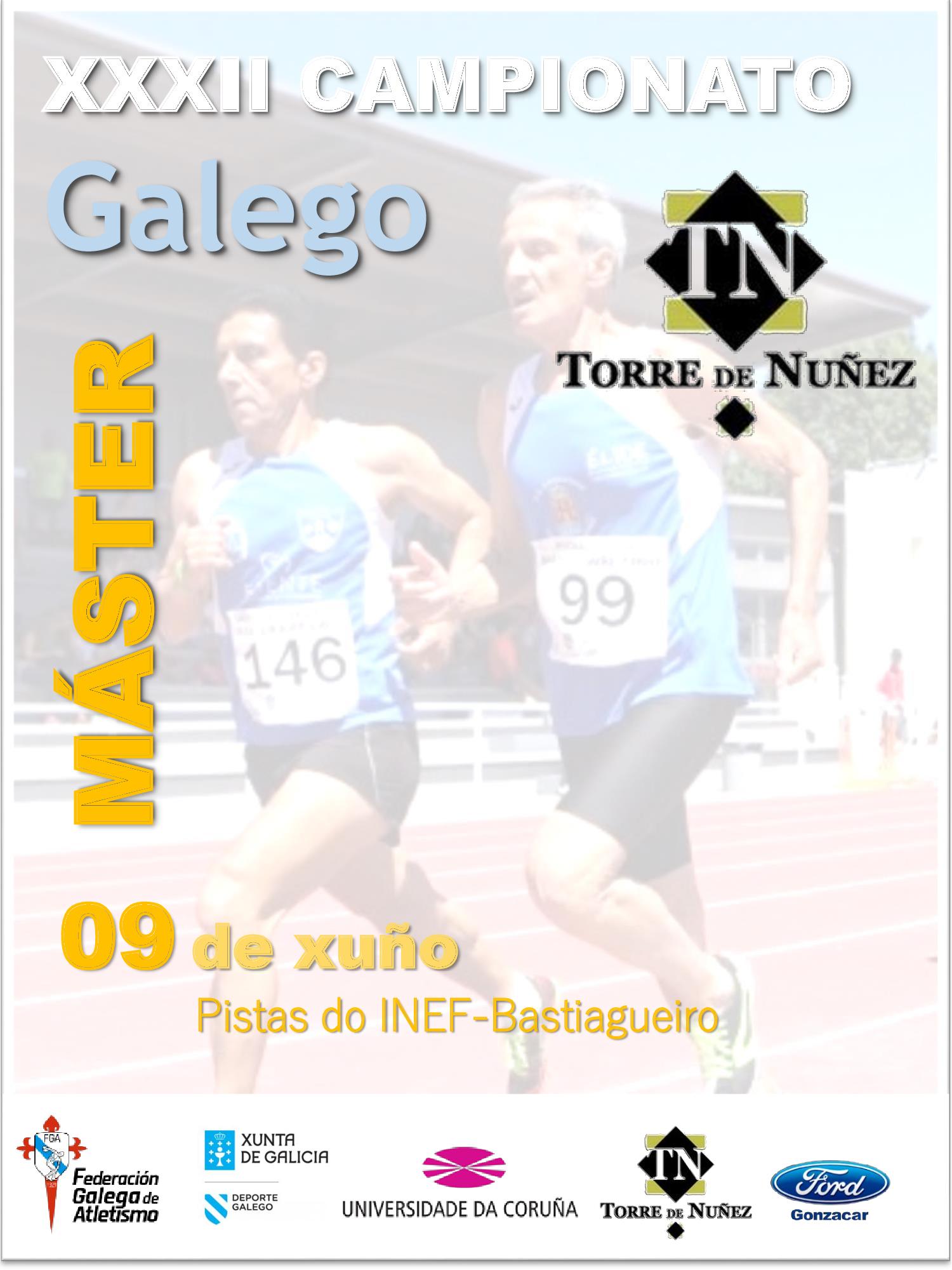 XXXII Campionato de Galicia Máster en Pista ao Aire Libre
