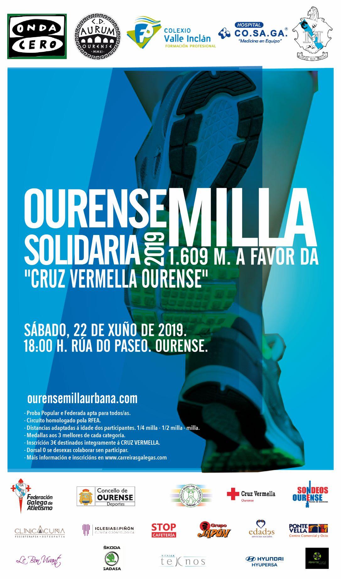 III Ourense Milla Solidaria