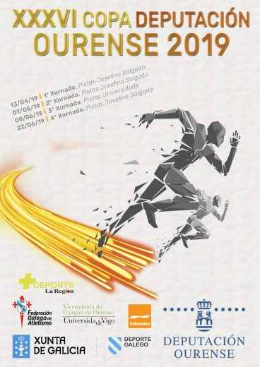 XXXVI Copa Deputación Ourense Atletismo – 4ª Xornada