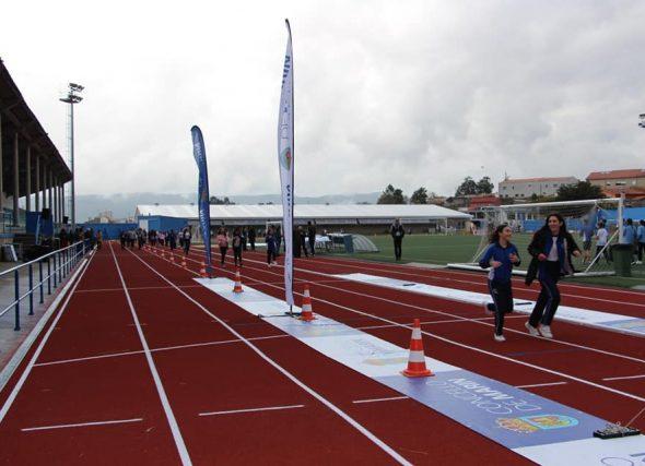 As novas pistas de Marín reciben o galego dos 10.000 m.