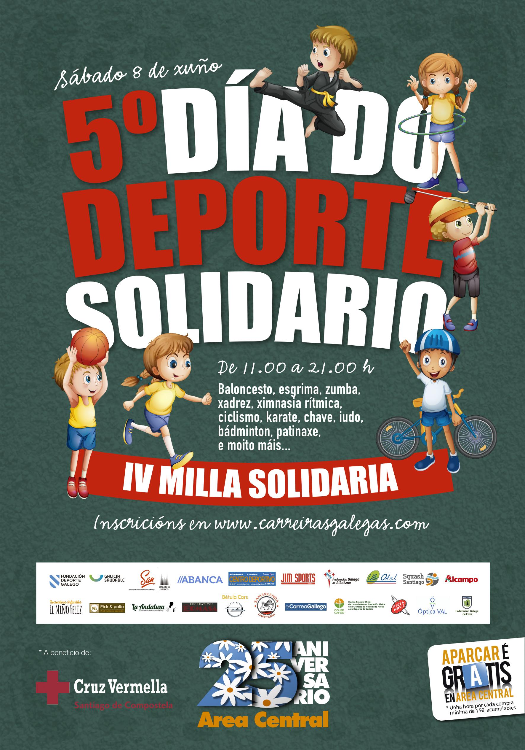IV Milla Día do Deporte Solidario