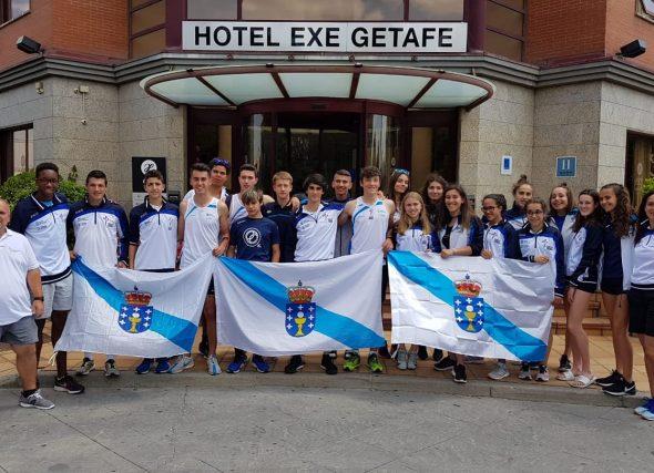 Postos de finalista en Getafe e dúas medallas en Tudela