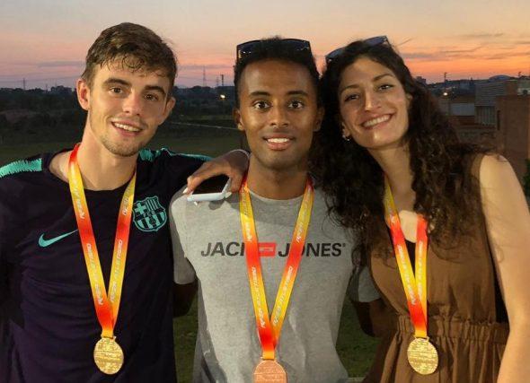 Oito medallas e un récord absoluto para os Sub23 en Tarragona