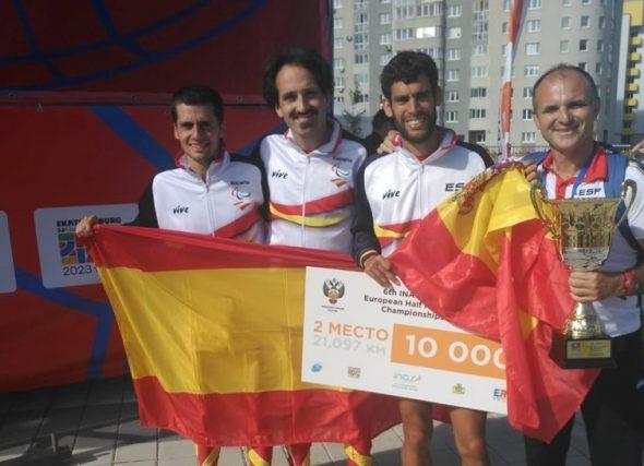 Formidable Alex Montero, Campión de Europa de Media Maratón INAS