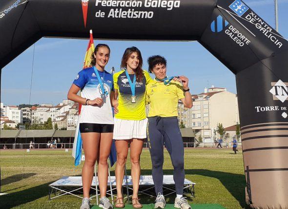 O resultados femininos convértense no motor do atletismo galego