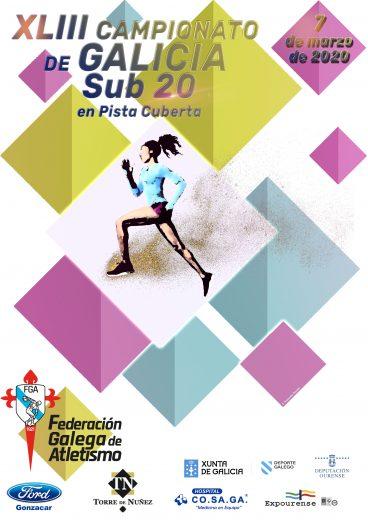 XLIII Campionato de Galicia Sub20 en Pista Cuberta