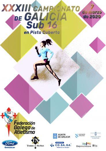 XXXIII Campionato de Galicia Sub16 en Pista Cuberta