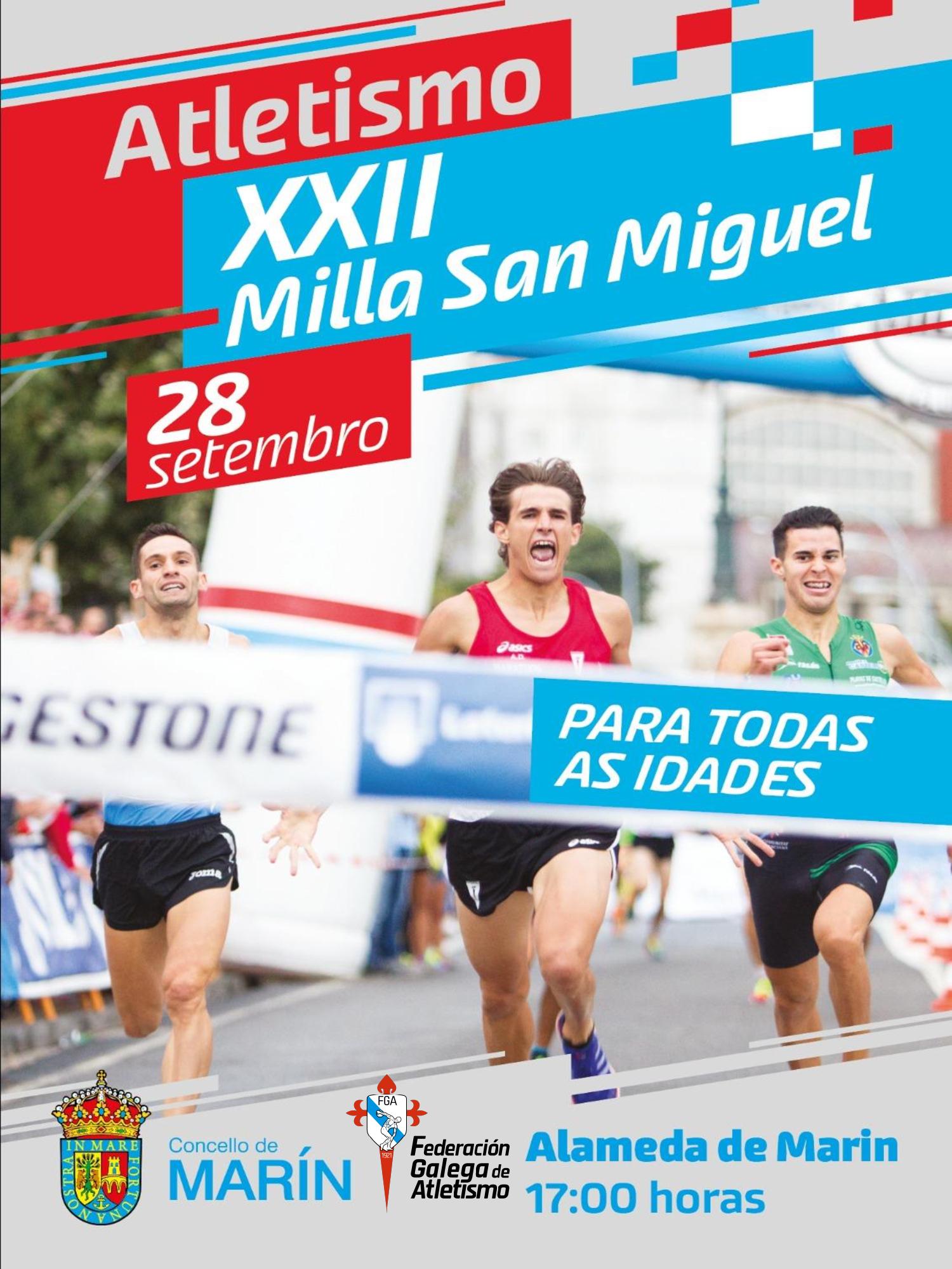 XXII Milla urbana San Miguel de Marín