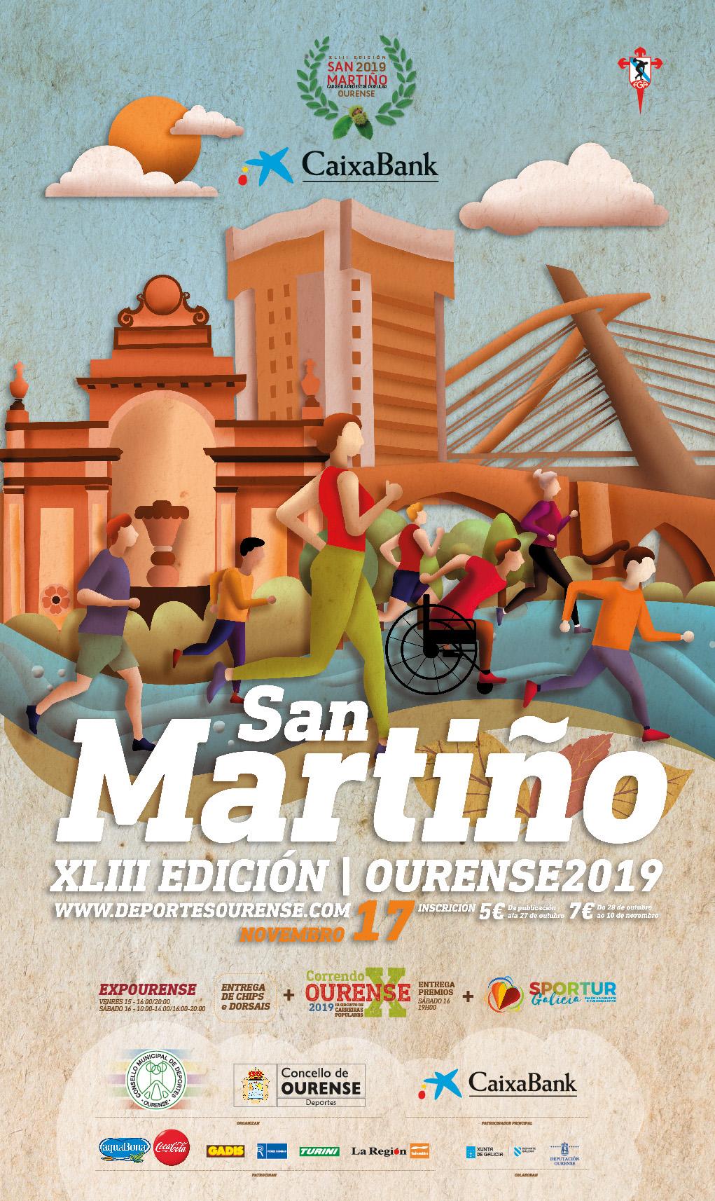 XLIII Carreira Pedestre Popular do San Martiño