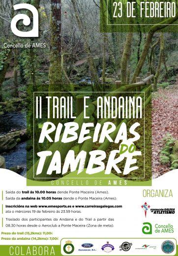 II Trail e Andaina Ribeiras do Tambre – Concello de Ames