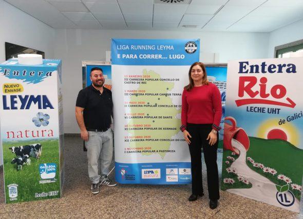 Grupo Leche Río, patrocinador da Liga Running Leyma