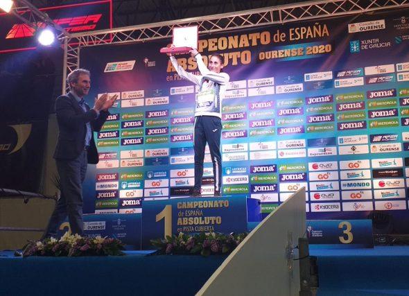 O atletismo Galego recoñece a Soli Pereira