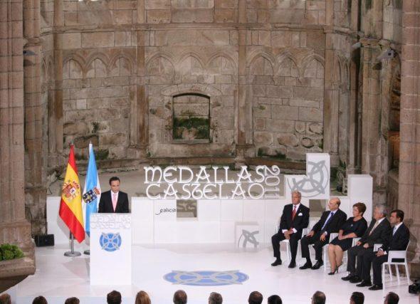 Ana Peleteiro, distinguida ca Medalla Castelao