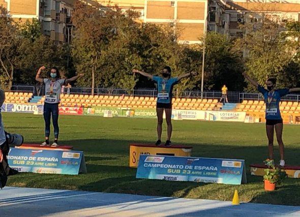 Sete medallas para o atletismo galego no nacional sub23