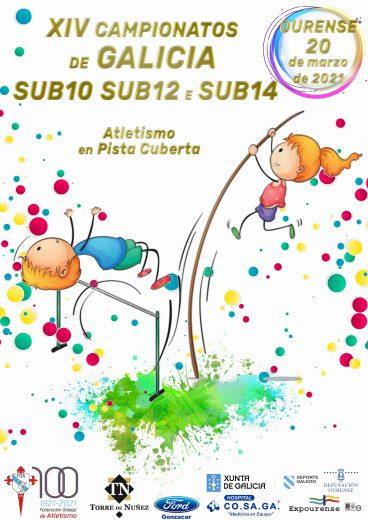 XIV Campionato de Galicia Sub10 – Sub12 – Sub14 en Pista Cuberta