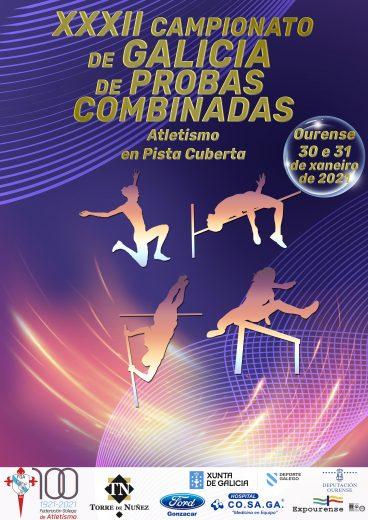 XXXII Campionato de Galicia de Probas Combinadas en Pista Cuberta
