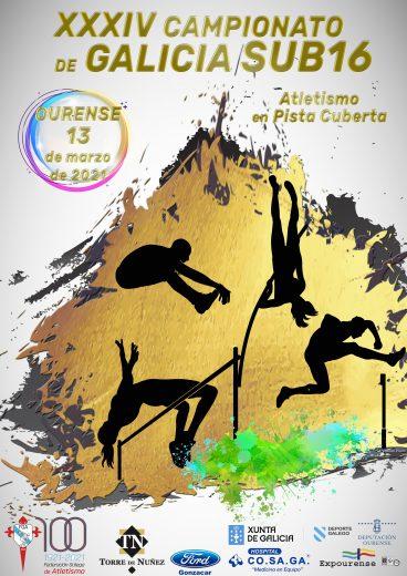 XXXIV Campionato de Galicia Sub16 en Pista Cuberta