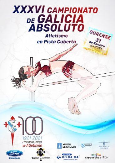XXXVI Campionato de Galicia Absoluto – Sub23 en Pista Cuberta