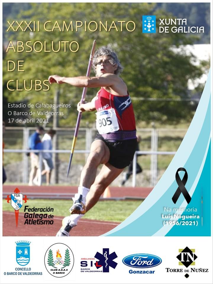 XXXII Campionato Xunta de Galicia Absoluto de Clubs