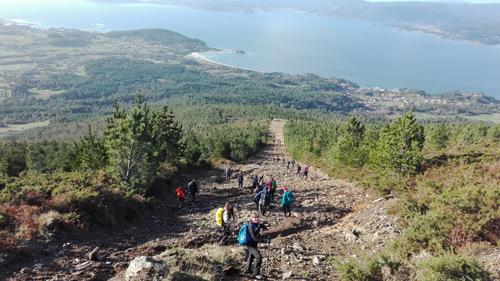 A Serra do Barbanza acolle o galego de Trail esta fin de semana