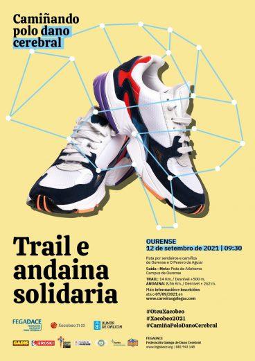 "I Trail e Andaina Solidaria ""Camiñando polo Dano Cerebral"""