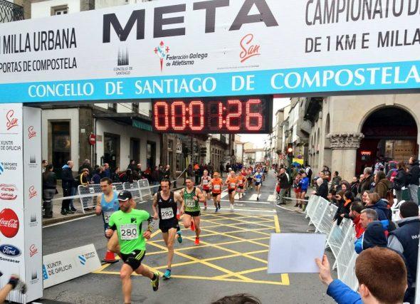 Volve o Campionato Xunta de Galicia de milla e de 1.000 m. en ruta