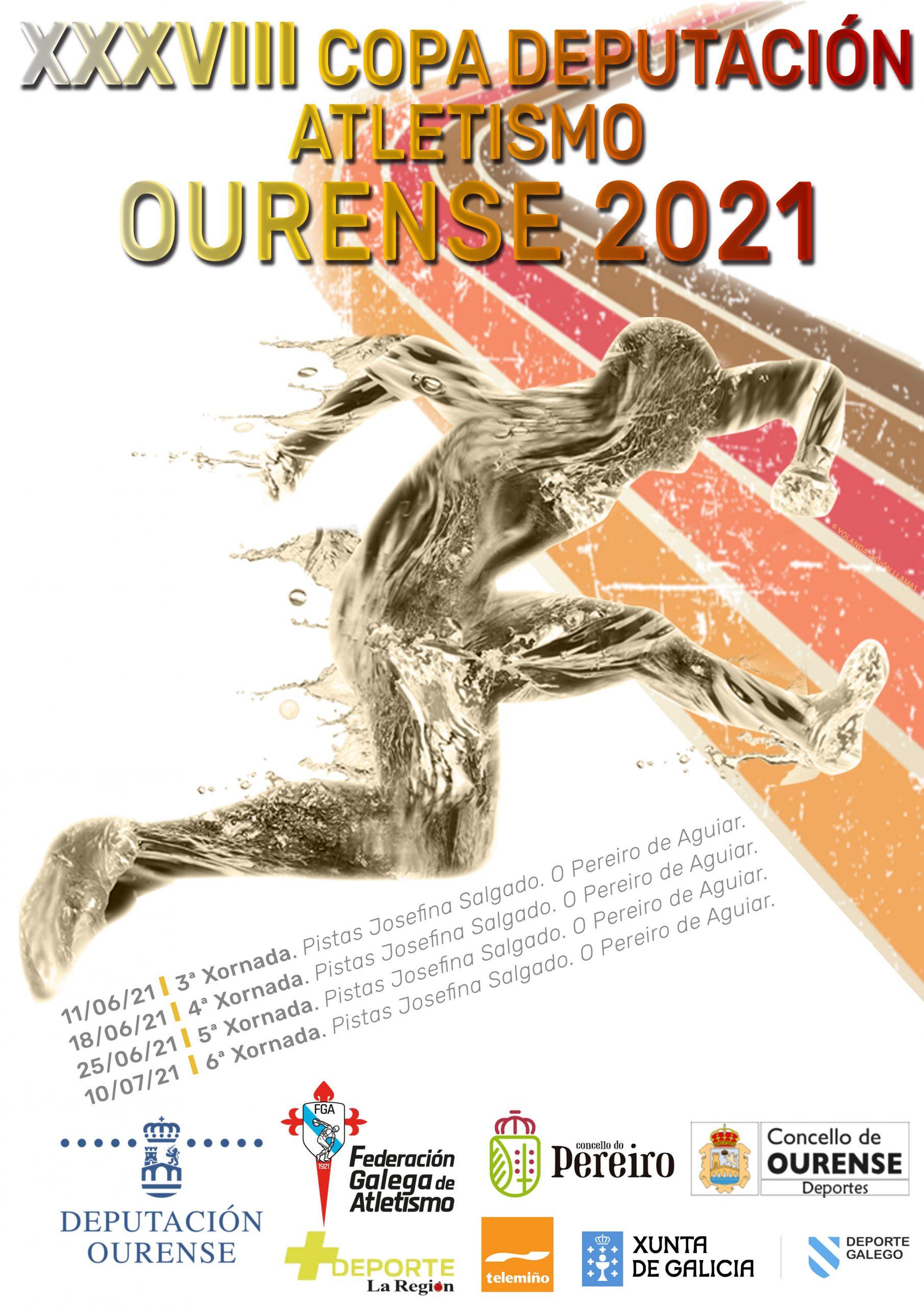 XXXVIII Copa Deputación Ourense Atletismo – 5ª Xornada