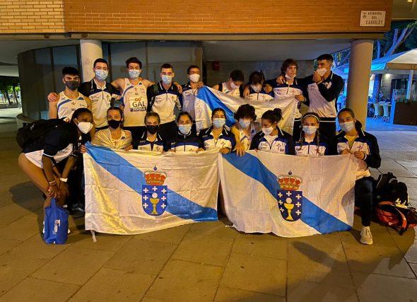 A Selección Galega Sub18 roza o podio en Granollers