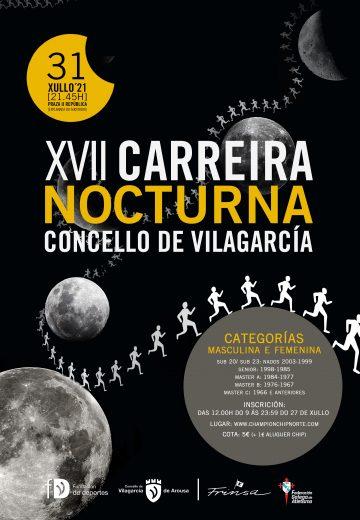 XVII Carreira Nocturna Concello de Vilagarcía