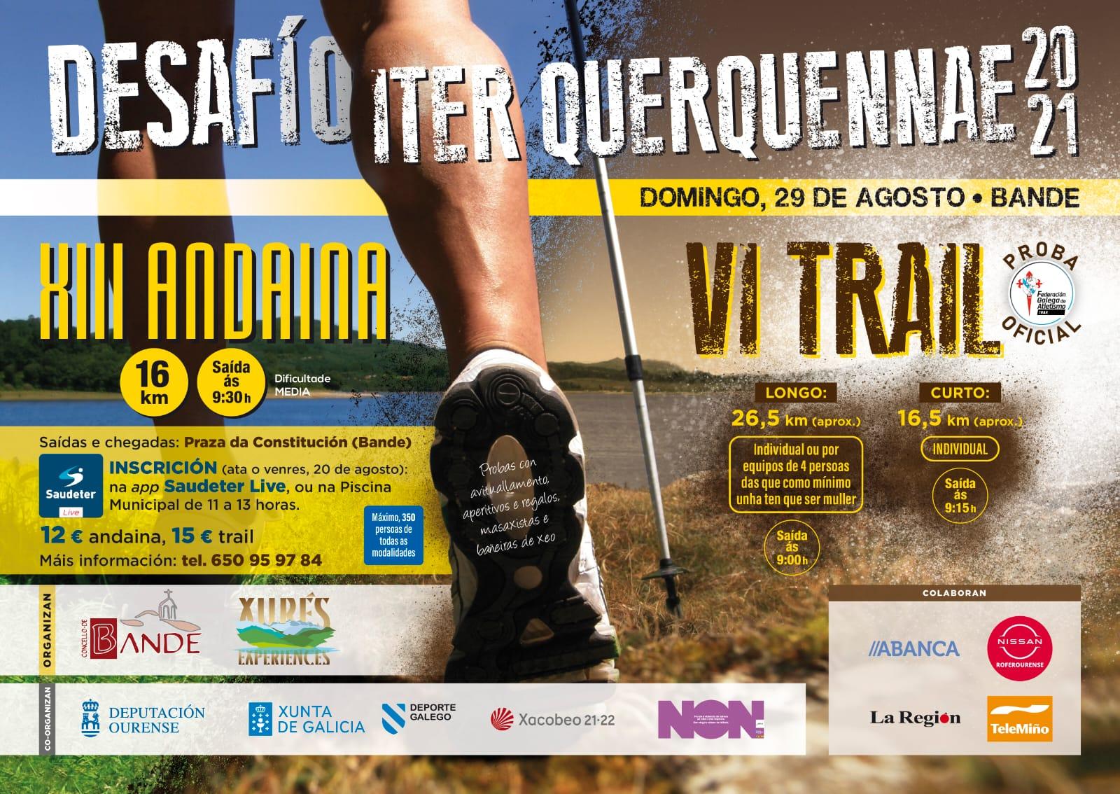 XIII Andaina – VI Trail Concello de Bande