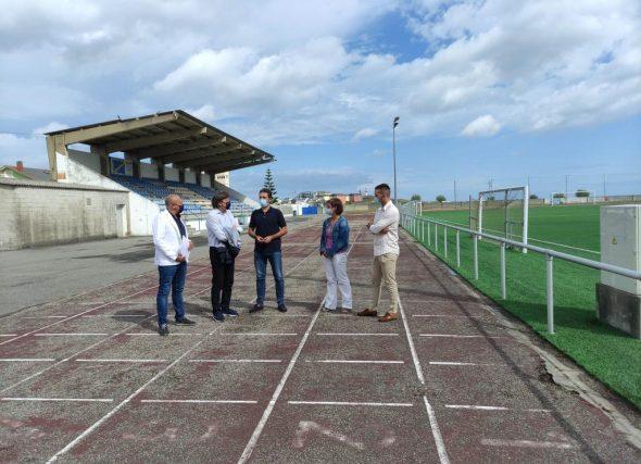 A Xunta e o Concello de Cervo impulsan a primeira pista homologada da Mariña