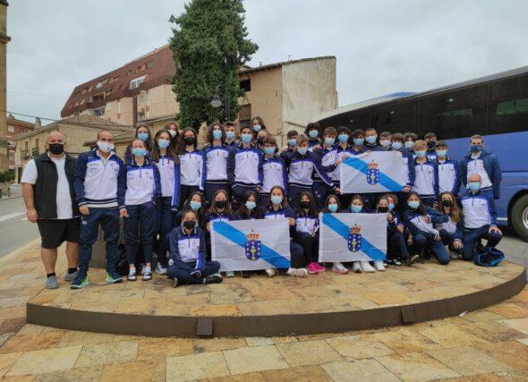 Destacado papel da nosa Selección Galega Sub16 en Cuenca