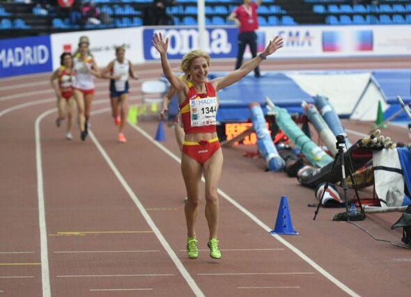 Esther Pedrosa amplía o seu palmarés cun récord mundial